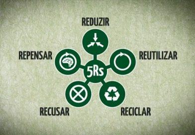 Os 5R's da sustentabilidade