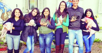 Visita  PET com animais de estimação no Hospital Centenário de São Leopoldo