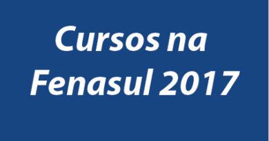 Cursos promovidos pela AGPTEA na Fenasul