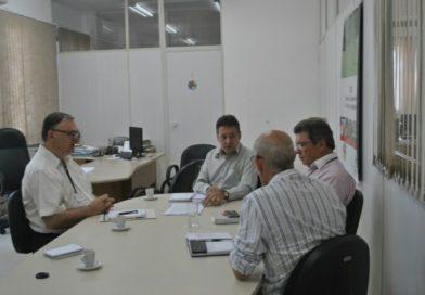 Reunião na Secretaria de Desenvolvimento Rural, Pesca e Cooperativismo