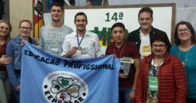 EEPROCAR de Carazinho conquista 1º lugar em Mostra das Escolas Estaduais